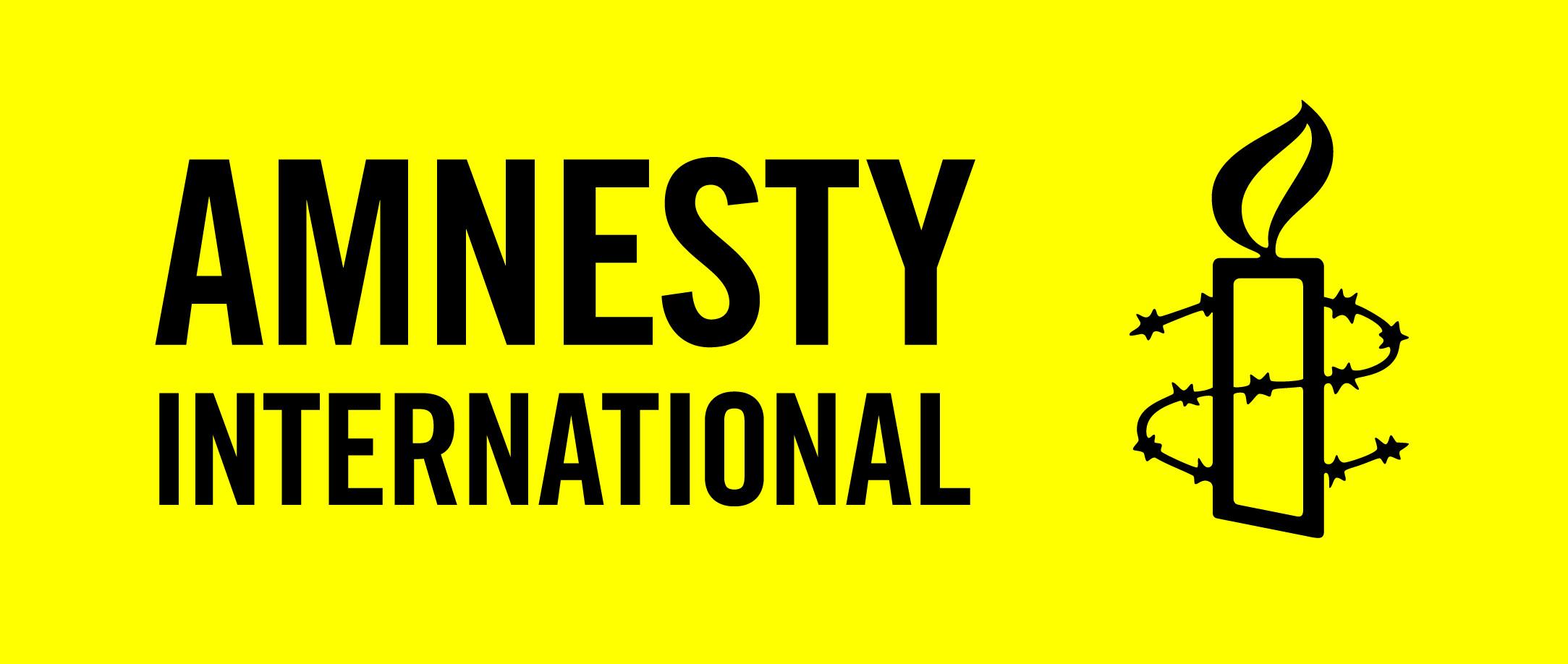 Amnesty logo.